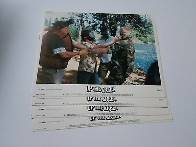 1984 UP THE CREEK Lobby Card Set 11x14 Tim Matheson COLLEGE RIVER RAFTING COMEDY