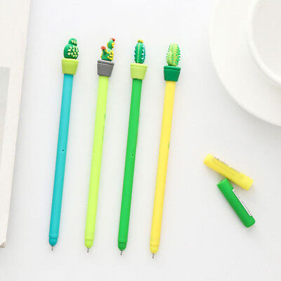 1PC 0.5mm Cute Cactus Plastic Mechanical Pencil Automatic Pen Kawaii Stationery