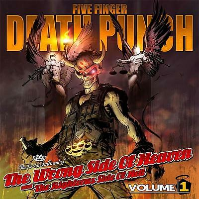 FIVE FINGER DEATH PUNCH WRONG SIDE OF HEAVEN Volume 1 CD NEW