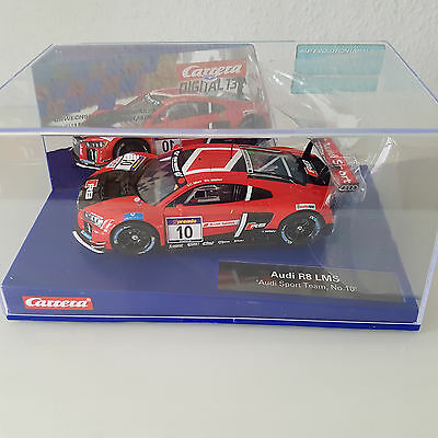 NEU/OVP CARRERA DIGITAL 132 AUDI R8 LMS AUDI SPORT TEAM No10 30770 1:32