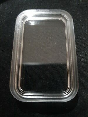 New Acrylic Capsule Rectangle For Perth Mint 1 Oz Rectangle Bar Genuine
