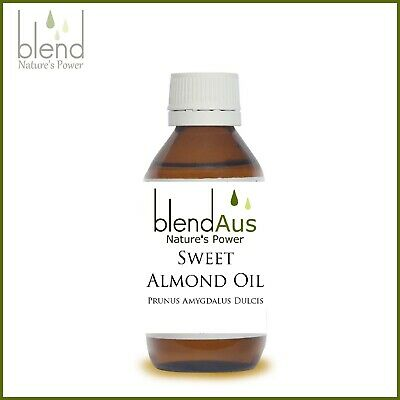 Almond Sweet Oil 100ml Pure Natural Cold Pressed Hexane Free