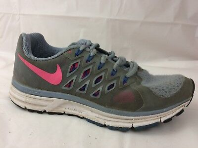 13e879bfe27 Nike Zoom Vomero 9 Womens 7 Med Gray Blue Pink Running Shoes 642196-006  Sneakers