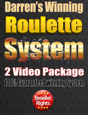 Roulette Strategy! Good system with resell rights! - Winning system! - 2 Videos