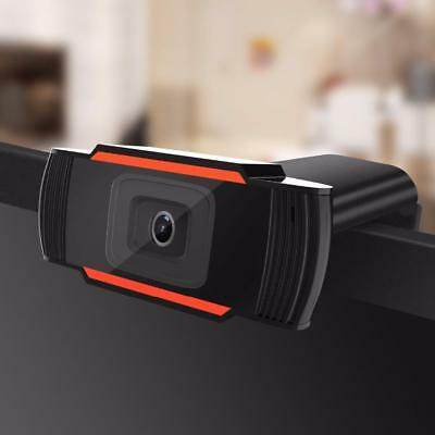 720P HD 12MP Auto USB 2.0 Webcam Web Camera 30fps w/ MIC for Skype PC Android TV