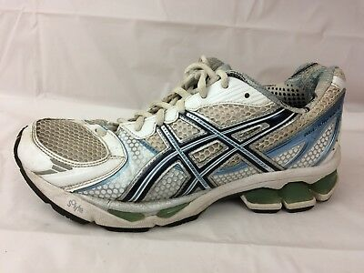 Womens M Kayano Blue Running 7 Asics 5 White Gel Shoes 15 eHIEb9W2DY