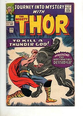Journey Into Mystery #118 THOR! 1 ST APP The DESTROYER! HIGH GRADE VF 8.0! 1965