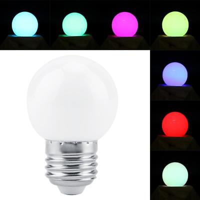 E27 3W RGB Colorful Magic Light Bulb Smart Lamp four effects  for Festival Light