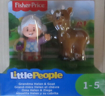 Little People Oma Helen & Ziege Fisher-Price neu OVP