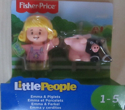 Little People Emma & Ferkel Fisher-Price neu OVP