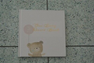 NEW Mamas and Papas Contemporary Unisex Baby Record Book Diary Journal