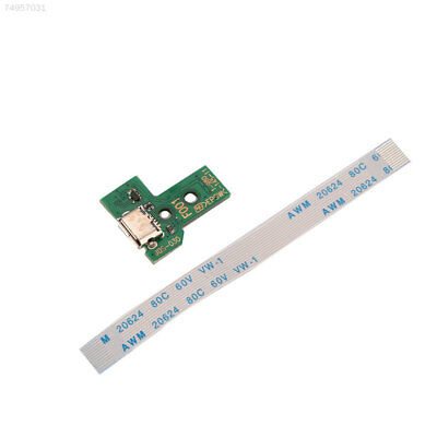 FB15 Micro USB Charging Port JDS-001 + 12Pin Flex Cable Ribbon For PS4 Controlle