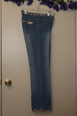 VTG Skinny Legs Blue JEANS from the 90's, size 14 x Small Pre-teen, Pre-Own