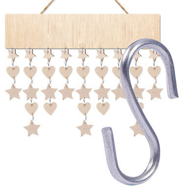 150PCS Stainless Steel Mini S Shape Hook Crafts DIY Hanging Accessories 5*14*1mm