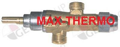 gas tap PEL type 20S GAS inlet M16x1.5 (tube ø 10mm)