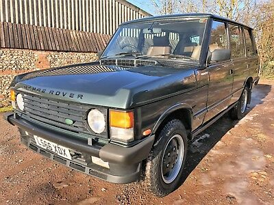1993 range rover classic 4.2 LSE with LPG+really smart looking example
