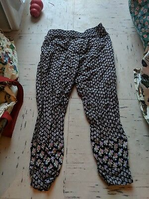 Girls floral trousers for 4 years (104cm) from NEXT - vgc