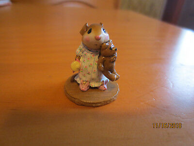 Wee Forest Folk Mousey's Bunny Slippers in Box