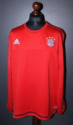 Bayern Munich Adidas mens training jacket Size 2XL 2015 2016