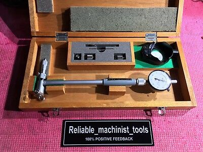 MITUTOYO Dial Bore Hole Inside w/Micrometer head 511-326 Gage 4-6.4 In .0001