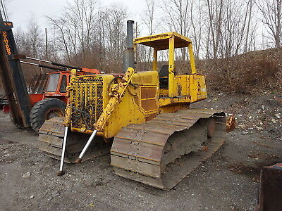 John Deere 850 Bulldozer RUNS MINT BIG POWER! 12' ANGLE BLADE Crawler Dozer