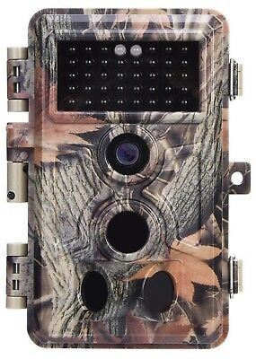 "Zopu Trail Camera 16MP 1080P No Glow Night Vision, Game Camera with 2.4"" LCD"