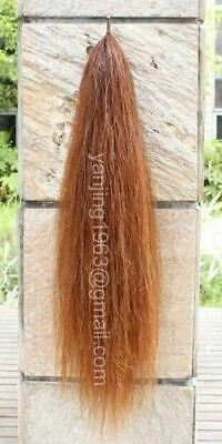 Natural Loop False Tail Single Thickness Light Chestnut aC1H YJ TAILS w/Free Bag
