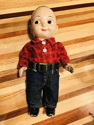 Original Buddy Lee Doll From 1950s