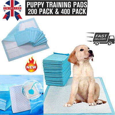 300PCS Puppy Dog Pet Indoor Toilet Training Pads 60x45cm Wee Potty Pee Mat Cat