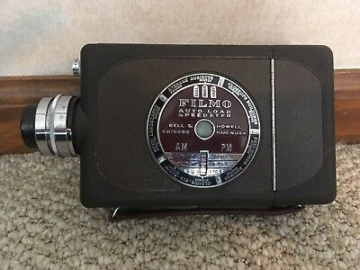 Vintage Bell And Howell Filmo Autoload Speedster 16mm Movie Camera