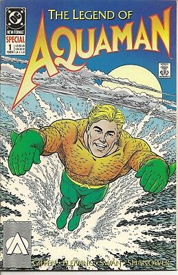 The Legend of Aquaman (DC-1989)  #1  52 pages, Giffen