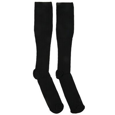 2X(1 Pair Compression Socks Anti Fatigue Black for Men EU 38-42 G9X4) 2*