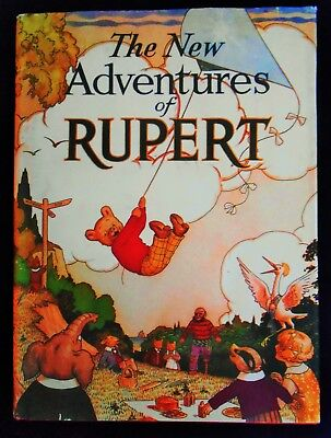SUPERB 1936 Limited Edition RUPERT BEAR FACSIMILIE ANNUAL with DUST COVER/BANNER