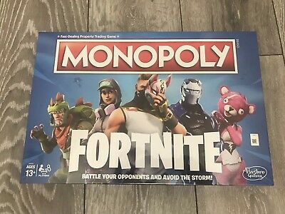 Monopoly FORTNITE Edition IN STOCK Board Game NEW SEALED Ready for dispatch