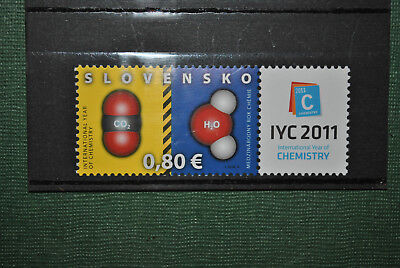 Slovaquie 2011 Chimie MNH