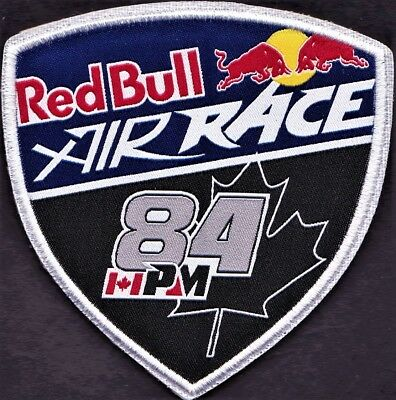 Pilot Patch - Pete Mcleod (Canada) - Red Bull Air Race - World Championship
