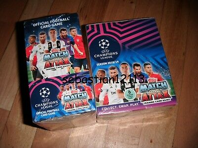 Topps Match Attax Champions League 2018/2019 New and closed BOX 30 packs