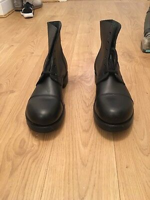 British Army Ammo Drill Parade Boots Size 12 Large