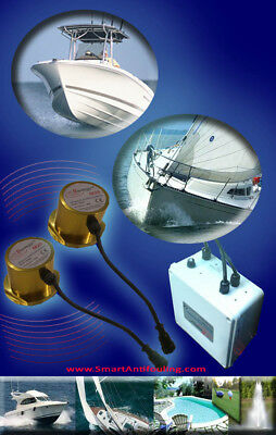 Ultrasonic Antifouling Marine Algae Control for Boats up to 50 Ft - 17M