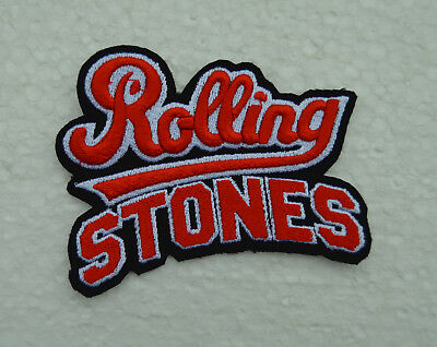 patch rolling stones, broder et thermocollant 9.5/7cmcollant