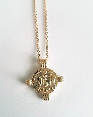 925 Sterling Silver Gold Plated Roman Coin Necklace Other Bloggers Stories Mango
