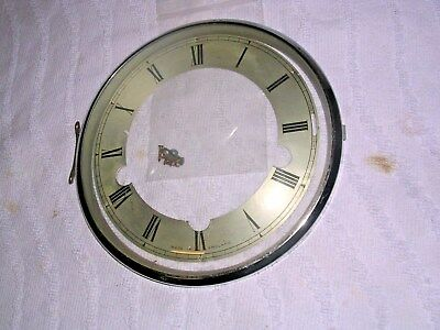 Clock  Parts ,  Chrome Bezel,  With  Chapter  Ring Enfield