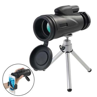 Night Vision Telescope Monocular Scope 12x50 High Power Waterproof BAK4 Prism