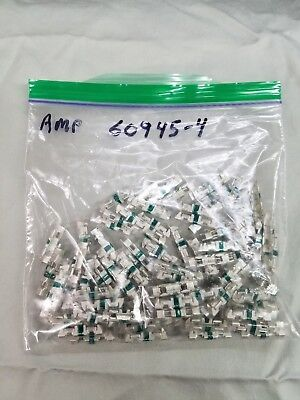 TYCO AMP 60945-4 Green Picabond Splice Connectors. 1 Lot of 100