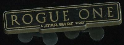 Star Wars Force For Change Rogue One Logo Disney Pin