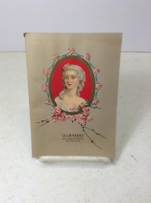 """Vintage Richard Hudnut """"Book of DuBarry"""" Cosmetic and Perfume Booklet"""