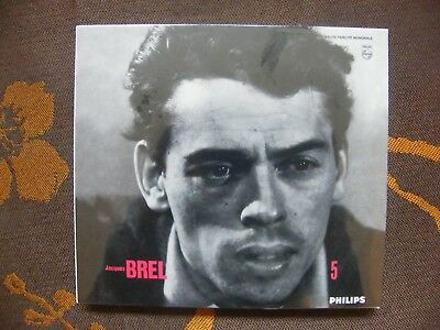 CD DIGIPACK DELUXE JACQUES BREL - Marieke  / Barclay 980 816-7 (2003)  NEUF