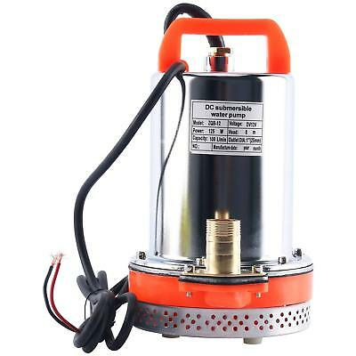 12V Farm & Ranch Solar Powered Submersible DC Water Well Pump 26FT Lift