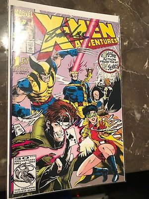 X-Men Adventures #1 (Nov 1992, Marvel) Autographed Signed by Stan Lee VF
