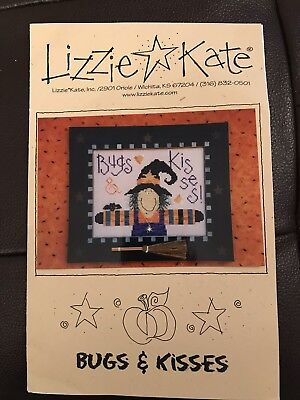 Lizzie kate cross stitch Chart Bugs And Kisses